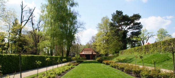 Blick zum ehemaligen Geflügelhaus
