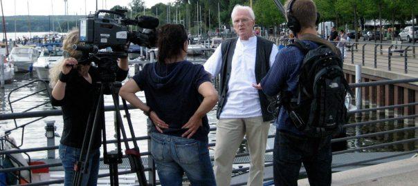 Rainer Nitsch 2010 im Abendschau Interview