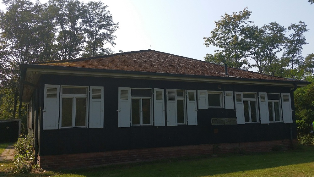 Kupferhaus auf dem Flugplatz Gatow